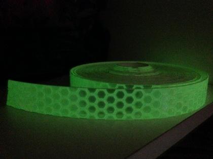 Glow in the Dark Reflective Tape - Art & Sea
